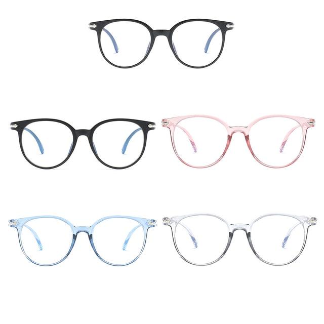 Popular Azul Bloqueando a Luz Óculos Anti Fadiga Ocular Óculos de Protecção Contra As Radiações Computador Óculos de Luz Decorativa