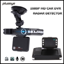 2 in 1 Car DVR Radar Detector 1080P HD Dash Cam Night Vision Car Camera Recorder