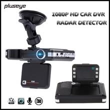 2 in 1 Car DVR Radar Detector 1080P HD Dash Cam Night Vision Car Camera Recorder G-sensor Video Registrator Motion Detection