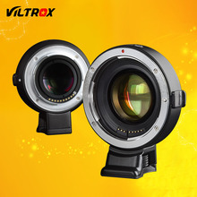 Viltrox EF-E Auto Focus Reduktor Prędkości Booster Adaptera Obiektywu do Canon EF EOS Obiektyw do Kamery Sony NEX-7 A9 A7 II A7RII A7SII A6500