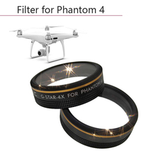 Star Filter 4/6/8 line drone accessories for DJI Phantom 4 Pro Camera Ultra thin lens filter aircraft spare parts