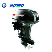HIDEA Hot Selling Water Cooled 2-stroke 48 HP Marine Engine Outboard Motor For Boats  long shaft