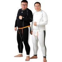 New Arrival 1 Set Plus Size Bear Claw Paw Thermal Underwear Cotton Warm Winter Men S
