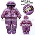 Новый 2014 девушки Мода осень зима комбинезон детская одежда девочка принцесса все-матч комбинезон новорожденные фиолетовые прекрасные комбинезон