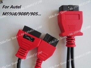Image 2 - Per Autel Per MITSUBISHI per HYUNDAI 12 + 16 Spilli MaxiSys Pro MS906 MS906BT MS906TS MS908S Pro Mini MaxiCOM MK908P OBD I SIM Card e Adattatori
