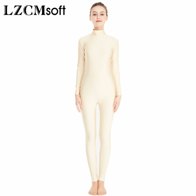 1e41cc467 Aliexpress.com   Buy LZCMsoft Adult Long Sleeve Full Bodysuits ...