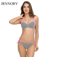 JRNNORV 2018 Sexy Bikinis Women Swimsuit Push Up Bikini Set Bathing Suits Halter Summer Beach Wear
