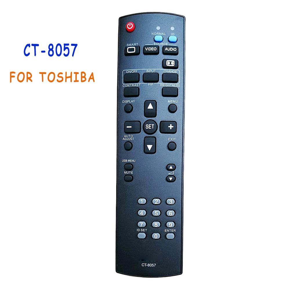 New Remote Control CT-8057 For TOSHIBA SIGNAGE TV DVD CT8057