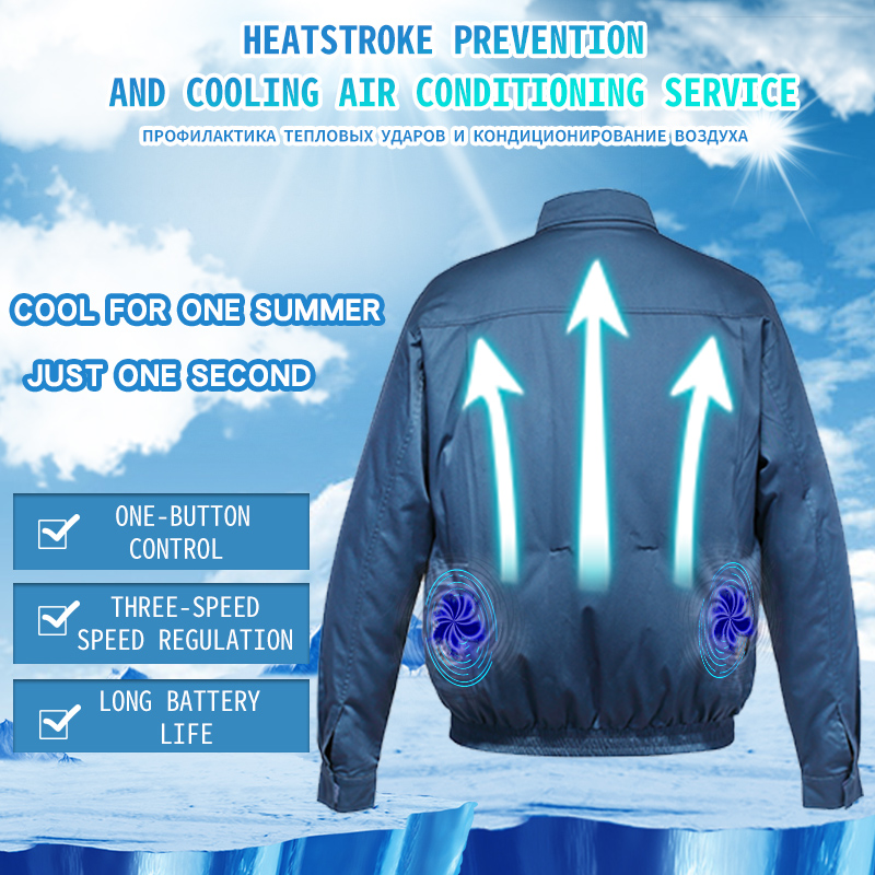 SAVIOR air-conditioning fishing suit high temperature work heat-resistant wear-resistant anti-wrinkle safety can be customizedSAVIOR air-conditioning fishing suit high temperature work heat-resistant wear-resistant anti-wrinkle safety can be customized