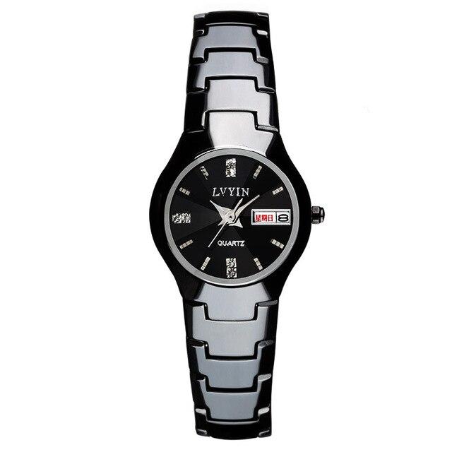 d3ef53e0f37805 bilancio Di lusso delle donne di orologi in ceramica nero bianco ...