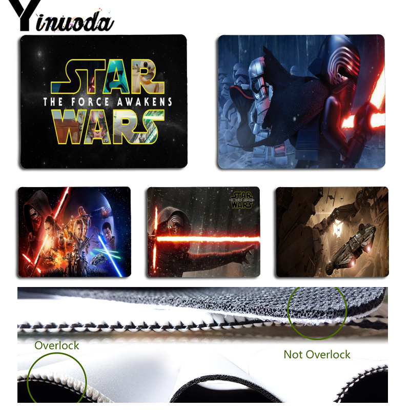 Yinuoda Star Wars The Force Awakens Computer Gaming Mousemats Size for 18x22x0.2cm Gaming Mousepads