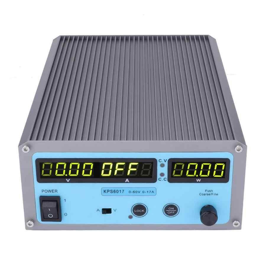 Regulowany Dc regulowany zasilacz stabilizowany przełącznik programów czterocyfrowy wyświetlacz 110-220 V narzędzie