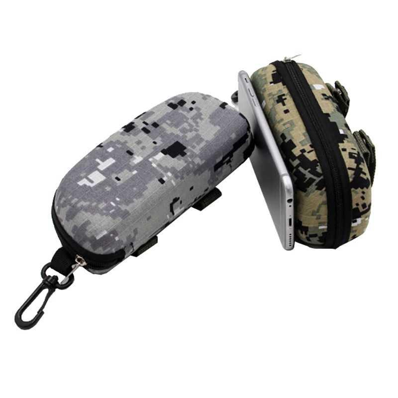 Eva Portable Kacamata Kotak Penyimpanan Pelindung Kamuflase Taktis Molle Kacamata Tas Case EDC Aksesori Tas Tas Hiking