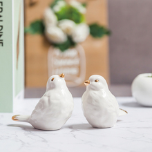 hot deal buy lx home furnishing decor ceramic bird home decoration accessories animal statue present anniversary gift ornament home decor
