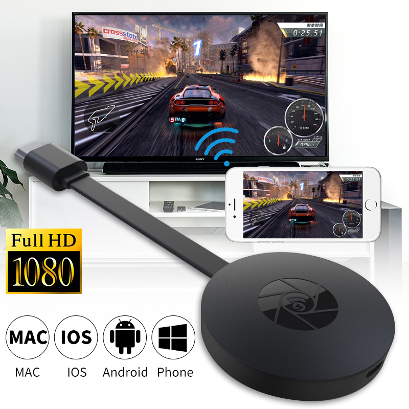 Mirascreen Mini PC Android Tv Stick Miracast Airplay Anycast TV Dongle & L7 HD TV Cable For Apple Ios VS Netflix Dvb-t2 Youtube(China)