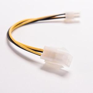"""Image 3 - 15cm 8 """"polegadas atx 4 pinos macho para 4pin fêmea pc cpu fonte de alimentação cabo extensão cabo conector adaptador 1 pc"""