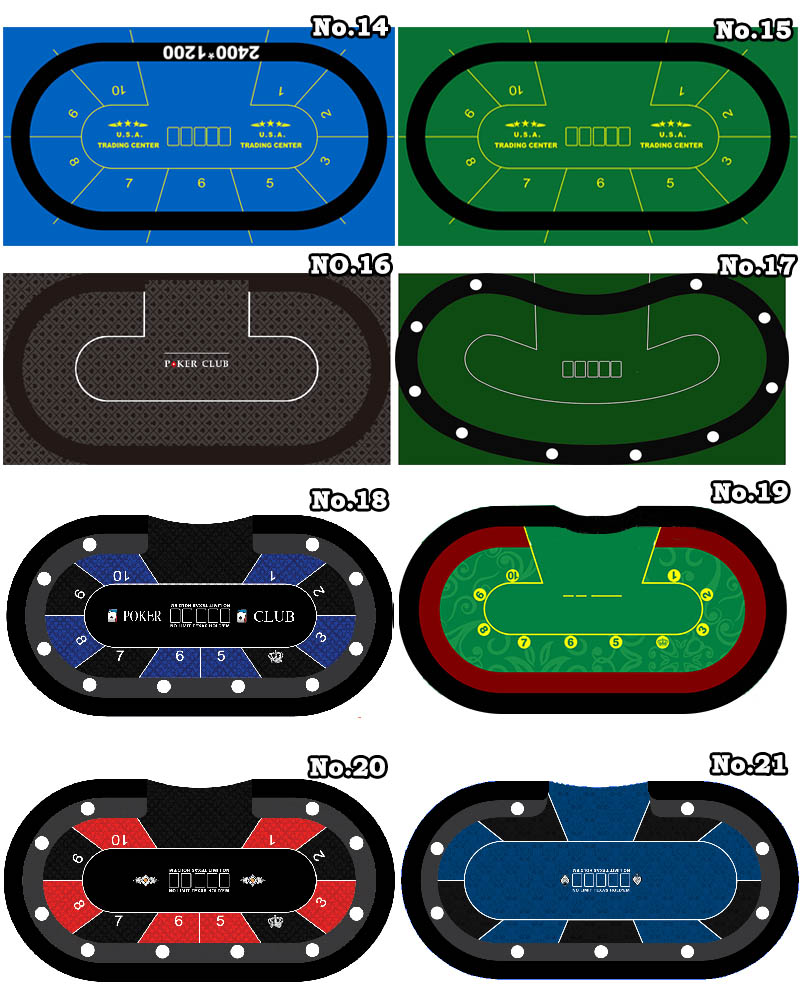 1pc Poker Game Cloth Layout Can Be Customized With Good