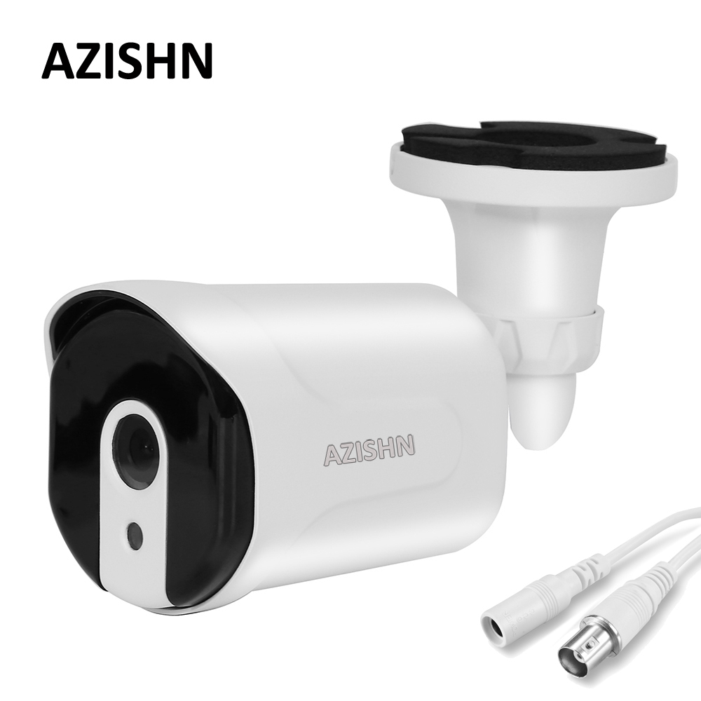 AZISHN AHD Camera 1080P Sony IMX323 Video Surveillance Camera 6pcs IR Night Vision 30M Metal Case Outdoor Waterproof CCTV Camera smar outdoor bullet ip camera sony imx323 sensor surveillance camera 30 ir led infrared night vision cctv camera waterproof