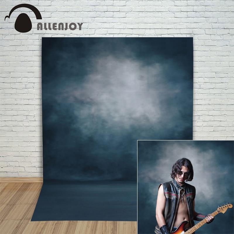 Allenjoy צילום רקע כחול כהה טהור צבע פסטל מקצועי Photophone עבור צילום יריות רקע עבור סטודיו צילום