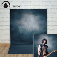 Allenjoy photo backdrops Dark blue pure color pastel professional Photophone for a photo shoot backgrounds for photo studio