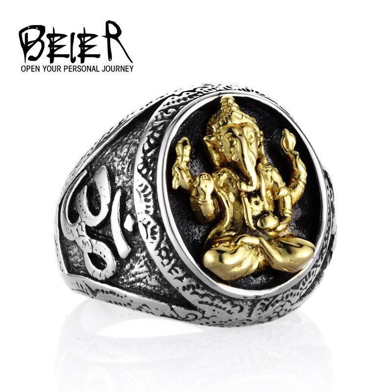 T1 de acero inoxidable Thai venta al por mayor bisutería tailandesa plata incrustaciones de titanio de acero de cobre anillos de hombre del anillo del