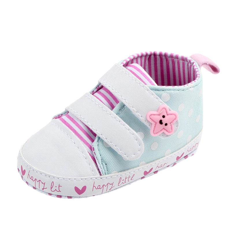 Baby Shoes 2019 New Autumn/Spring Newborn Boys Girls Toddler Non slip Soft Sole Pink Stripes Shoes Baby Casual Sneakers
