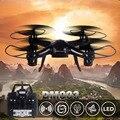 Бесплатная доставка 2.4 Г DM003 rc drone мультикоптер вертолет Дистанционного управления игрушки VS СЫМА X5C X13 x5sw CX10W syma x5c-1 cx-10w