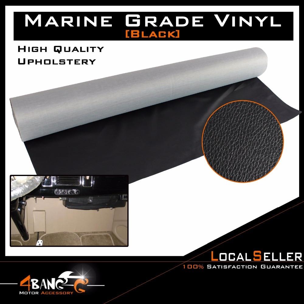 Automotive Trunk 24x55 Black Liner Vinyl Upholstery Carpet Interior Lining Fabric No Stretch Heavy Duty Use Flexible and Folda