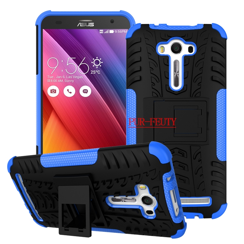 Phone Case for ASUS Zenfon 2 Laser Z00LD ZE550KL <font><b>ZE</b></font> 550KL <font><b>550</b></font> ZE550 <font><b>KL</b></font> Cover for ASUS_Z00LD 5.5'' Dual Bag Armor TPU + Hard Case image