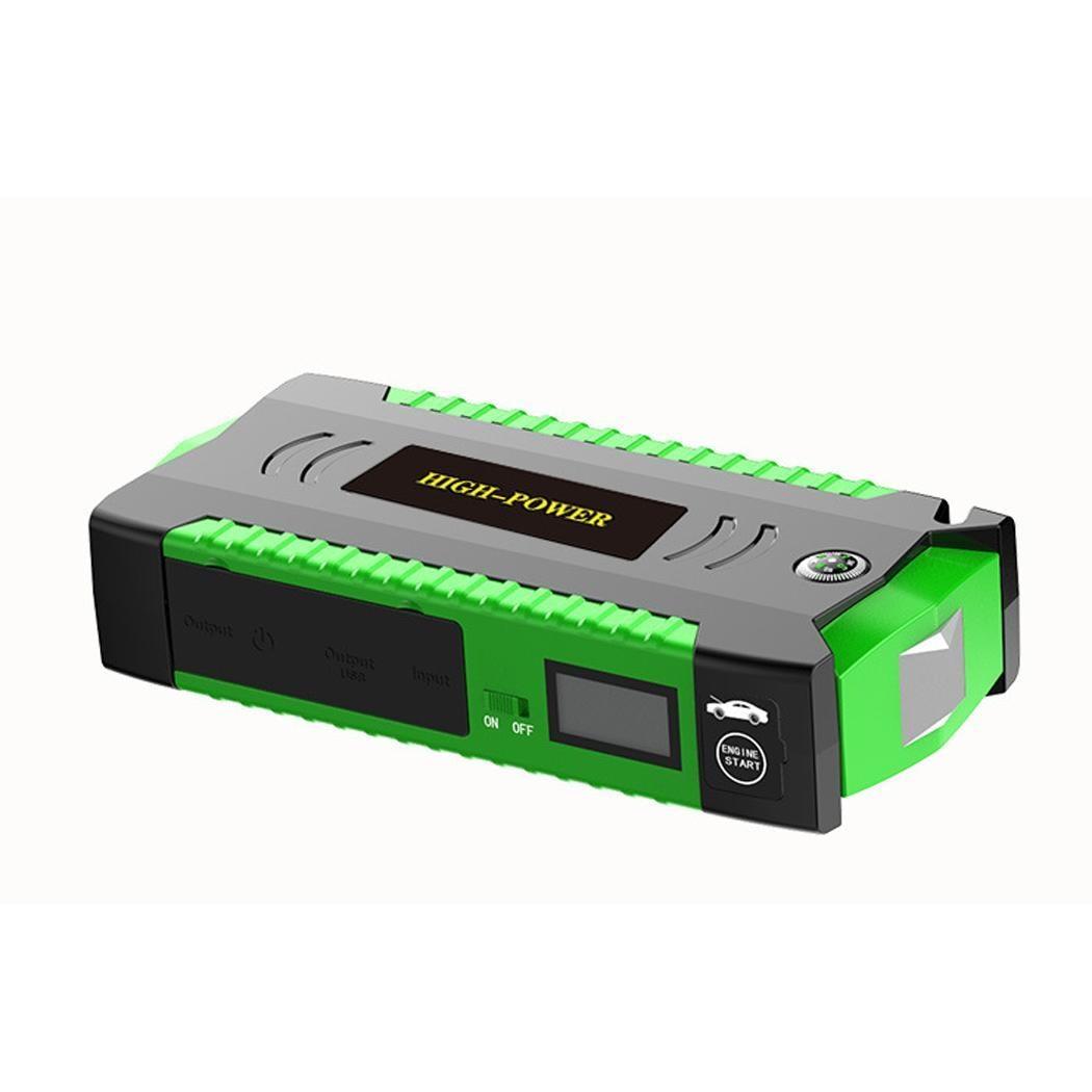 Chargeur portatif de secours de démarreur de cavalier de voiture de la puissance élevée 12V chargeur de voiture d'usb pour le dispositif de démarrage automatique de Buster de propulseur de batterie de voiture LED