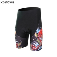 XINTOWN Colorful Man's Shorts Sportswear Cycling Clothing MTB Shorts Mountain Bike Bicycle Shorts Wear With Pad Ropa Size S-5XL