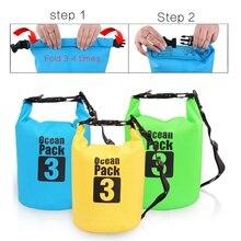 Водонепроницаемый плавательный мешок сухой мешок для хранения каноэ рафтинг спортивные сумки комплект для наружного путешествия оборудование речной пакет