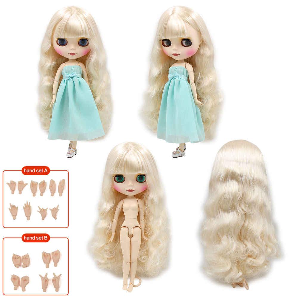 Blyth boneca corpo comum fábrica nova matte face pele branca bonecas renascer diy compõem boneca gelada preço especial dar mão conjunto ab