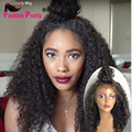 "Full Lace Human Hair Wigs For Black Women Brazilian Hair Wig Kinky Curly Full Lace Wigs 10-26"" Front Lace Wigs 150%density"