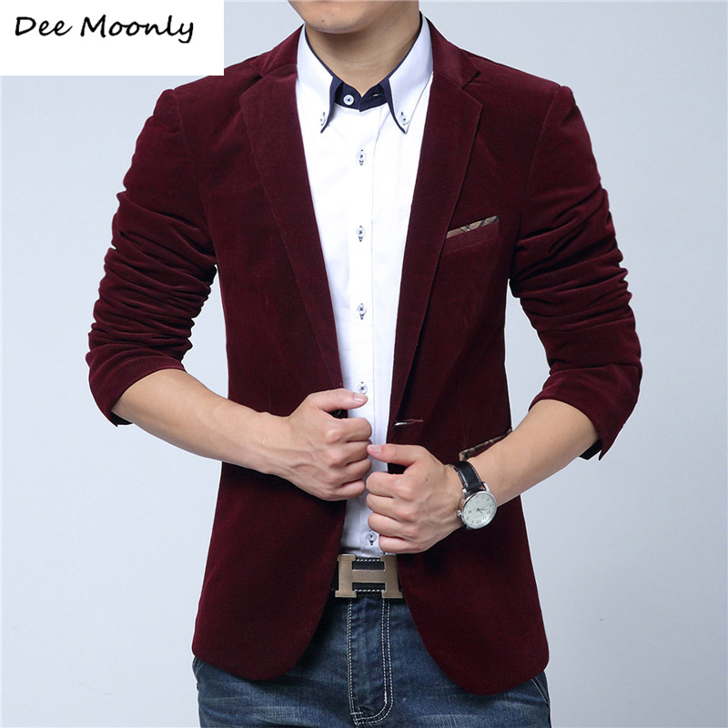 Popular Corduroy Blazer Mens-Buy Cheap Corduroy Blazer Mens lots ...