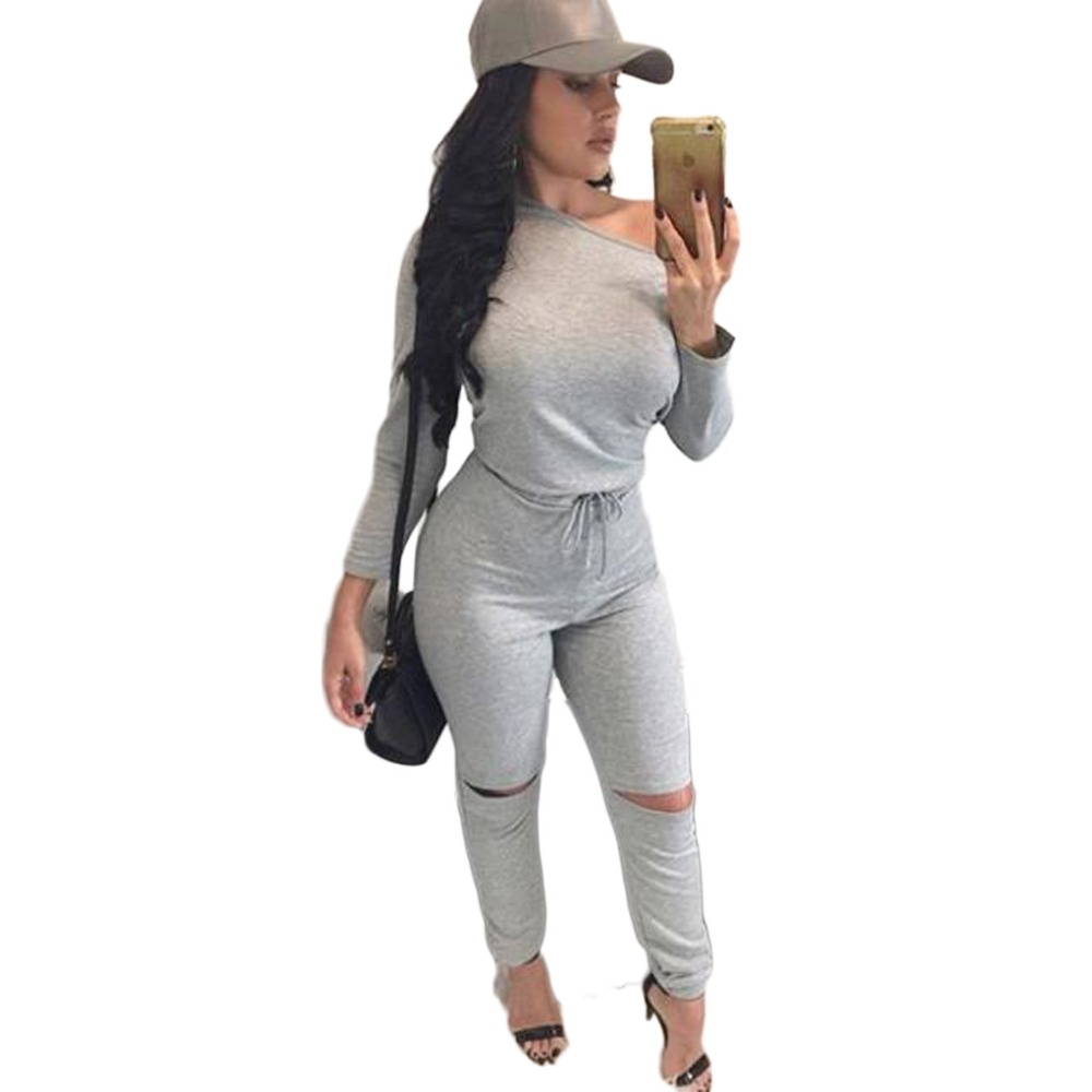 Online Buy Wholesale grey jumpsuit women from China grey jumpsuit ...