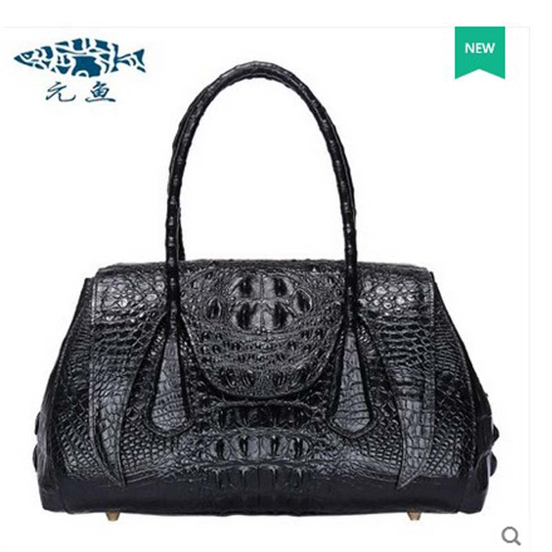 yuanyu hot freeshipping 2018 new thai crocodile leather women handbag genuine leather real leather real leather women bag