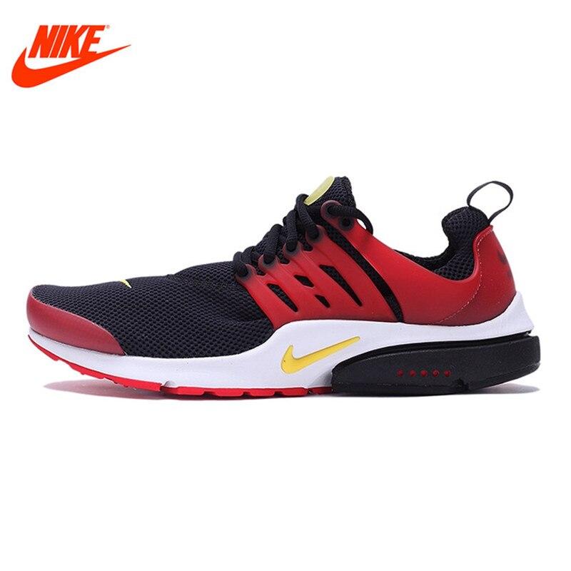 NIKE Original Breathable Fall AIR PRESTO Men's Running Shoes Sneakers кроссовки nike air presto br qs 789869 001 100