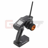Freeshipping RadioLink RC3S 2 4G 4CH Gun Controller Transmitter 2 Pcs High Voltage Receiver