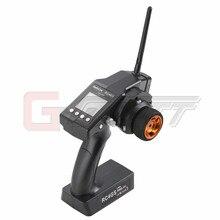 Check Price GARTT RadioLink RC4GS 2.4G 4CH Car Controller Transmitter + R4FG-G Gyro Inside Receiver for RC Car Boat DRIFT BUGGY TRUCK