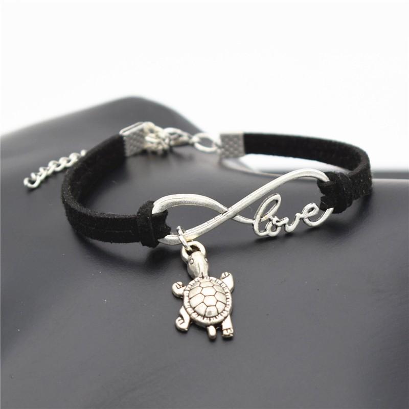 Lovely Animals Infinity Leather Bracelet