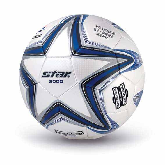 Free shipping! High quality Match use Star Soccer Ball/Football Size 5 SB225 New Polaris 2000 Gift: gas pin,net bag,backpack