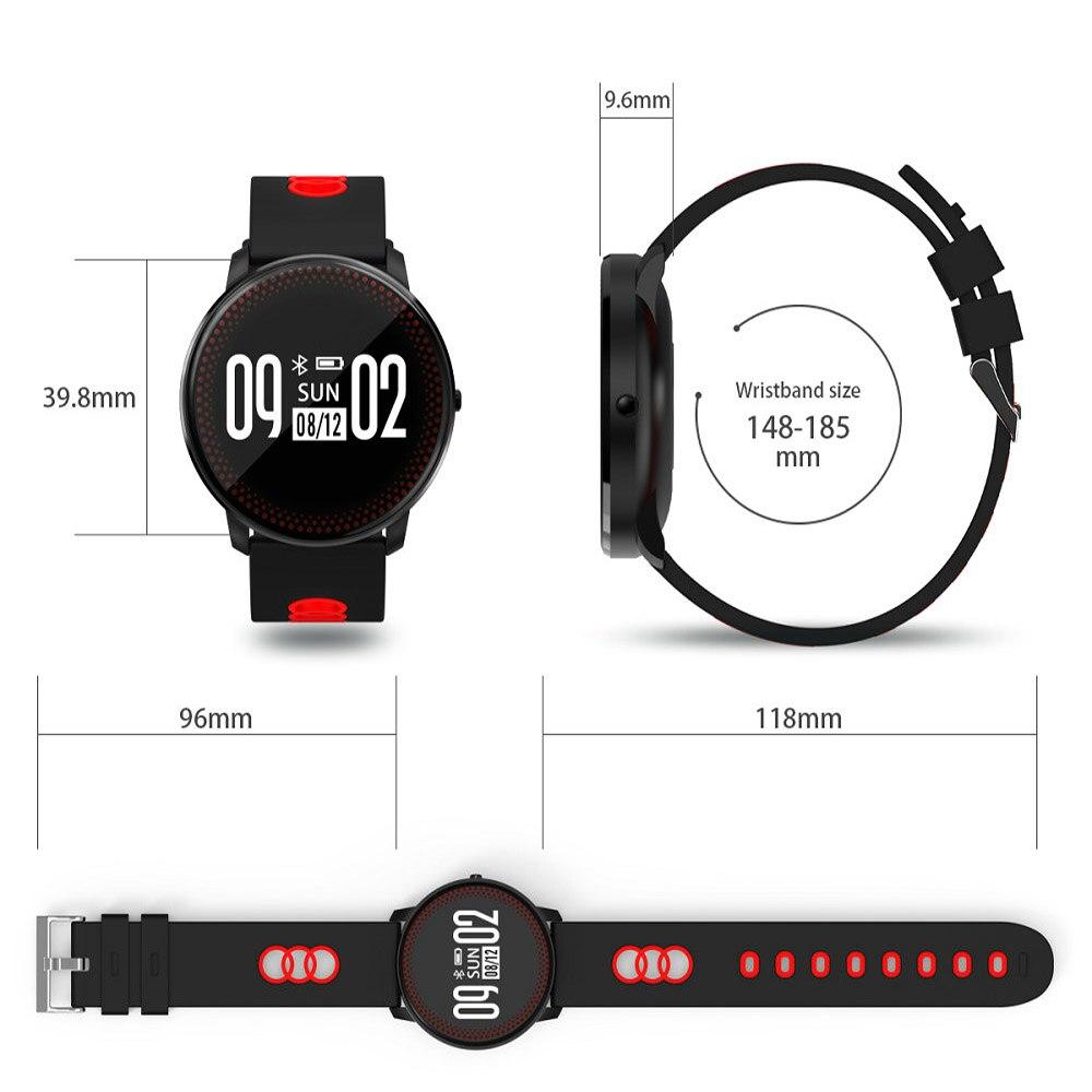 SKF CF107 de Remise En Forme Intelligente Bracelet Tracker Fréquence Cardiaque Moniteur de Pression Artérielle Passometer Intelligent Bande Montre Bracelet PK Mi Bande 2