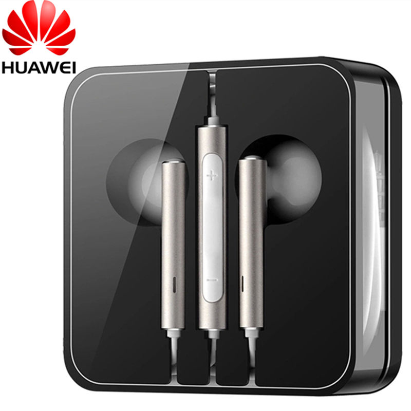 HESTIA Original Huawei Honor Engine Earphone AM116 with Mic Remote In Stock In-ear Headset for Samsung Mobile Phone