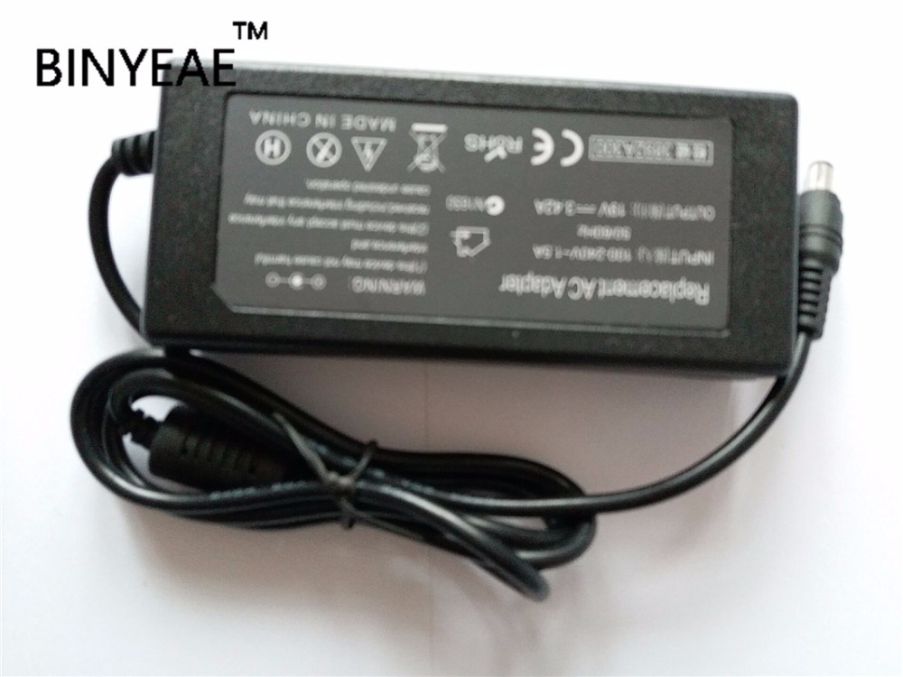19V 3.42A 65W AC Power Adapter  Charger for ASUS X53 X53E K45VM K46C K46CA K46CM K53B K53BR K53BY K53S K53SK K55A X401A X401U