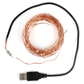 Christmas/Wedding/Party Decoration Lights Home Decoration USB 100 LED 10M Copper Wire Party Supplies  String Light #KF