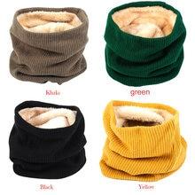 Утолщенные теплые флисовые шарфы для занятий на открытом воздухе