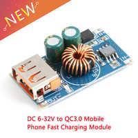 12V24V to 5V USB Support Qualcomm QC3.0 Maximum 24W Regulated Power Converter Buck Module Input6V-32V QC2.0 AFC BC1.2 SFCP