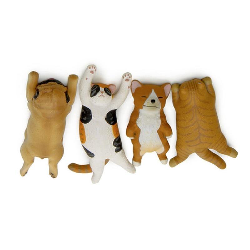 Groceries Japan Sleepy Corgi Cat PVC Action Figures Toys DIY Decoration Gifts