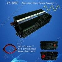 Free shipping 800 watts inverter, pure sine wave inverter 12 240 volt